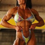 Professional Female bodybuilder Marina Lopez
