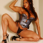 MEET GLAMAZON AMBER STEEL AT THE MUSCLE PINUPS BOOTH, ARNOLD'S EXPO, MARCH 1-4, 2012