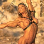 DEBI LASZEWSKI : HOT MUSCLE CLIPS' WARRIOR PRINCESS