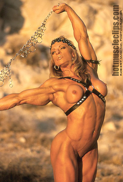 Debi Laszewski Hot Muscle Clips Warrior Princess