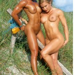 SUN-KISSED . . . BARE NAKED BEAUTIES