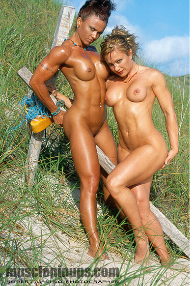 Sun Kissed Bare Naked Beauties Muscle Pin Up Blog