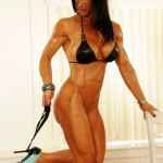 ULTRA-HOT ELISA ANN IS MUSCLE PINUPS NEWEST PHOTO SET