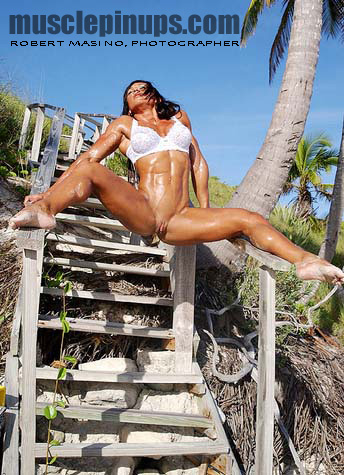 Autumn Raby sizzles in the islands!