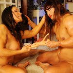 Alicia Alfaro and Denise Masino Fuck with Ken