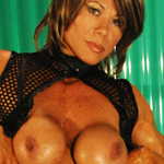 Keena Moleena Female Muscle Goddess