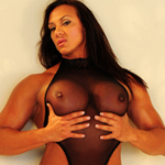 Muscle Foxes Amber Deluca Fucks Black Toy