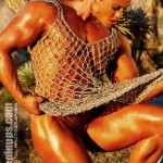 DANA CAPOBIANCO : ANOTHER MUSCLE PINUPS EXCLUSIVE