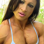 Alicia Muscular Legs and Hard Female Muscle