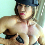 Cool Cat Keena Moleena – Sexy Nude Female Bodybuilder