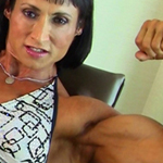 Tazzie Colomb – Female Bodybuilder Sexy as Hell