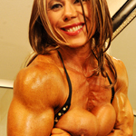 Keena Moleena Female Bodybuilder Erotic Striptease  XX HD