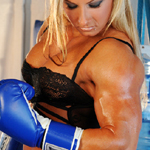 Knockout By Milinda – Nude Pec Dancing and Big Clit Exposed!