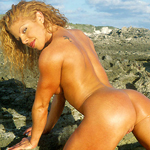 Island Heat – Christy Corry Gets Naked in the Bahamas