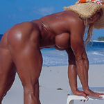 Island Heat Peggy Schoolcraft Naked Muscle on the Beach