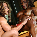 Black Label Vol. 2 – Sc 6 – Autumn Raby and Desiree Ellis Big Clit Sucking