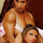 Denise On Demand: Cyberotica – Sn 4 – Denise Masino and Kim Stahl in Bed  XXX