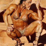 DENISE MASINO: HEART-POUNDING MUSCLE ART!