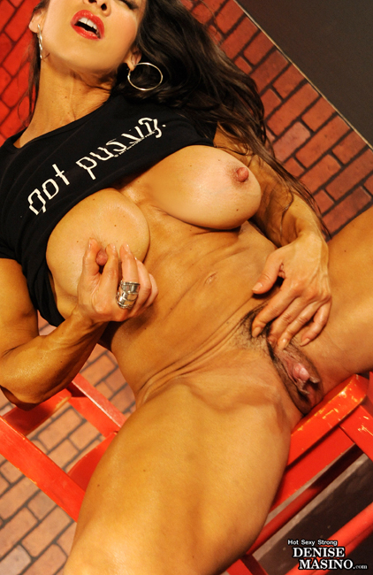 Denise Masino is unshaven just for you!