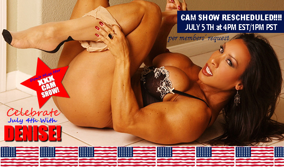 Celebrate the 4th with Denise Masino