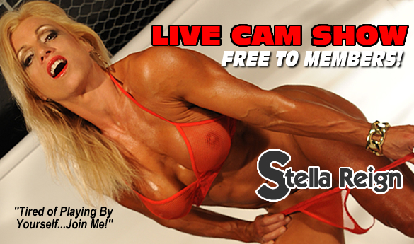 Stella Reign XXX Live Cam Show Tuesday Night!