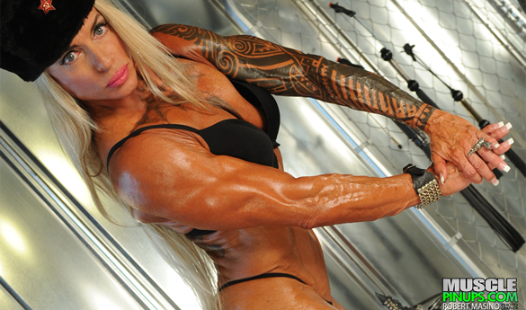 FEMALE BODYBUILDER SASHA DRAGO – XXX EXCLUSIVE