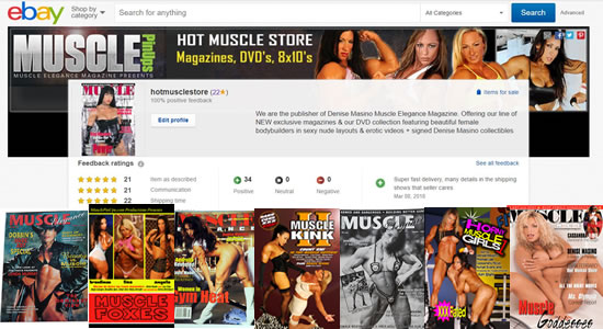 Hot Muscle Store on Ebay!!!  Get Your DVDs, Mags, Photos Here!